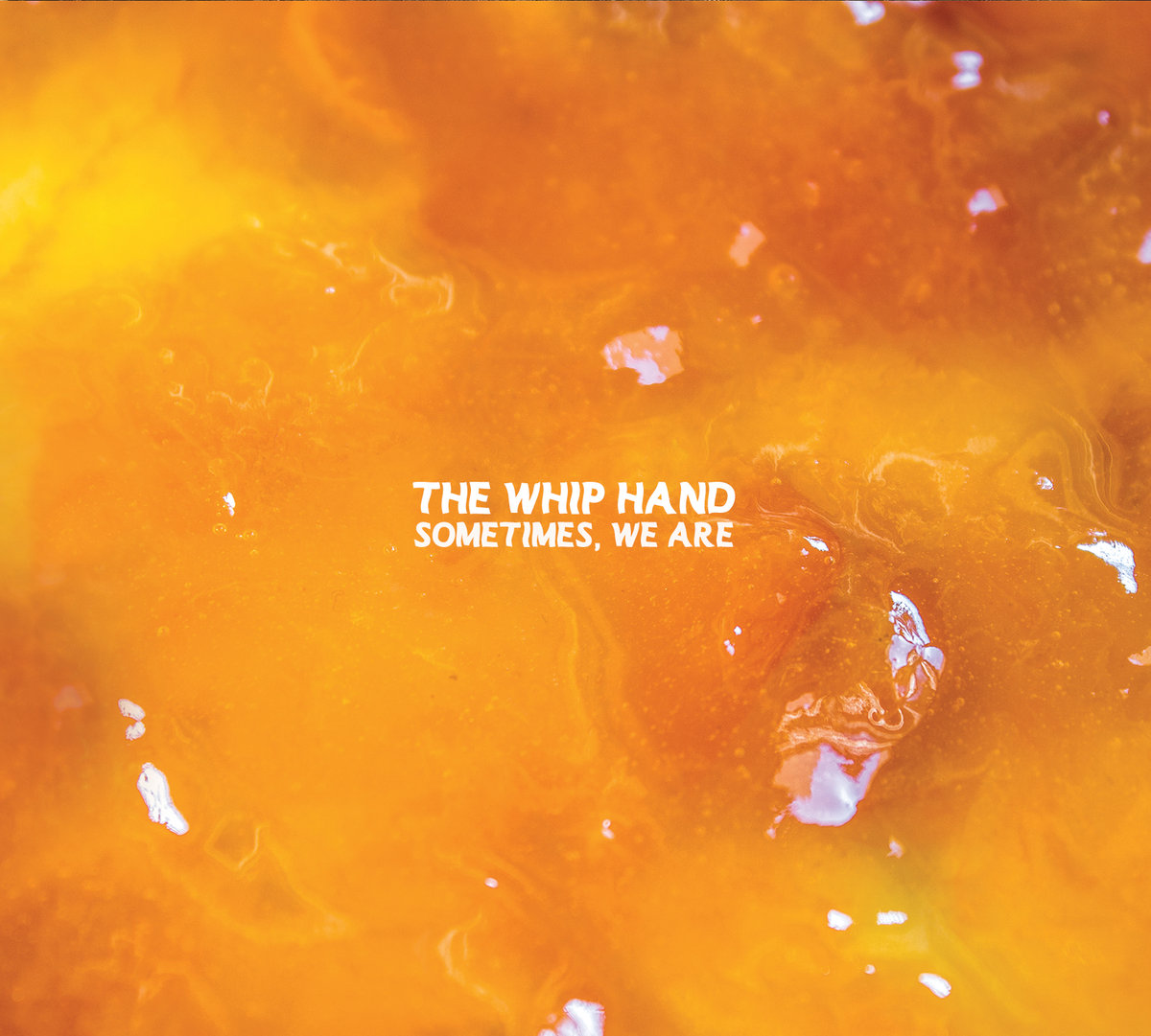 the whip hand - sometimes we are