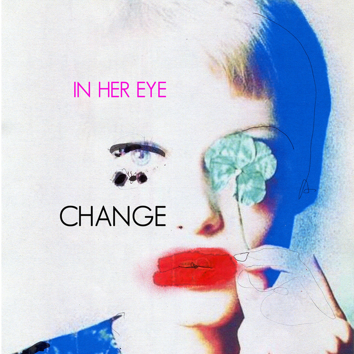 in her eye change