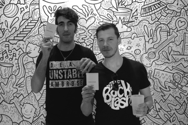 Francesco Lucà e Luca Mangano dei Backlash